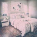 Defocus background modern classic interior bedroom Stock Images