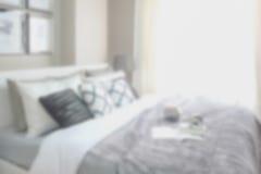 Defocus background modern interior bedroom Stock Images