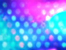 Defocus blur bokeh. Illustration background of blue and pink defocus circle Royalty Free Stock Photos