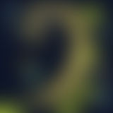 Defocus blurry blue, yellow and green nature background at night Royalty Free Stock Photo