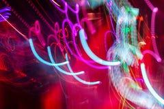 Defocus club light. Blurry lights. Club lights for designer Royalty Free Stock Images