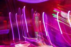Defocus club light. Blurry lights. Royalty Free Stock Photo