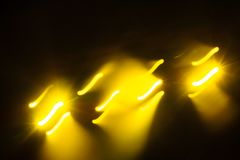 Defocus club light. Blurry lights. Club lights for designer Stock Images