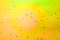 Defocus of color. Abstract of multi color background with drop water Royalty Free Stock Photos