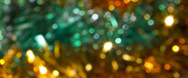 Defocus of colorful lights. Royalty Free Stock Photography
