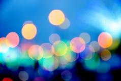 Defocus of light. Abstract of defocus of light background Stock Photos