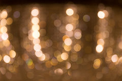 Defocus light bokeh on chandelier Stock Image