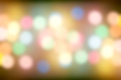 Defocus light colorful background Royalty Free Stock Images