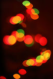 Defocus light spots Royalty Free Stock Photo
