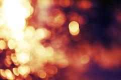 Defocus lights Stock Image