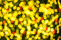 Defocus lights. Defocus of yellow lights. Image is blurry Stock Photo