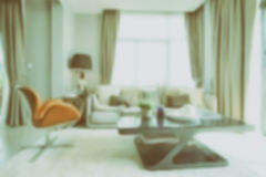 Defocus Living room in modern style Royalty Free Stock Photo