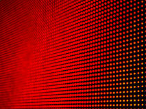 Defocus of red LED on panel, Stock Images
