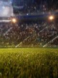 Defocus van stadionventilators bokeh 3d geef illustratie terug Royalty-vrije Stock Foto