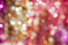 Defocused抽象假日和圣诞节背景 库存图片