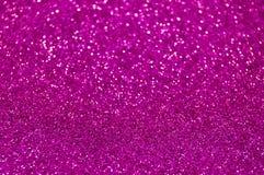 Defocused抽象紫色轻的背景 免版税库存照片
