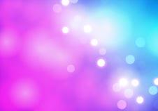 Defocused紫色背景 免版税库存图片