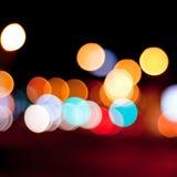 Defocused światła tło zdjęcia royalty free