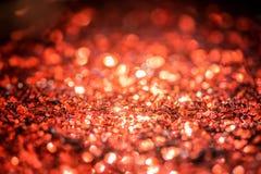 Defocused абстрактные красные света Bokeh Стоковое фото RF