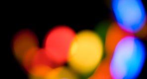 Defocused абстрактные красочные предпосылки светов Стоковые Фото