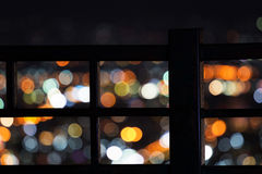 Defocused городская абстрактная текстура Стоковая Фотография RF