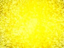 Defocused, запачканные абстрактные золотые света на ноче для предпосылки Стоковая Фотография RF