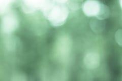 Defocused зеленый цвет предпосылки светов Стоковое фото RF