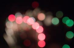 Defocused изображение фейерверков Стоковые Фото