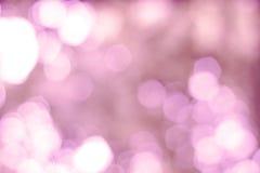 Defocused пинк предпосылки светов Стоковое Изображение