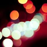 Defocused предпосылка светов Стоковое Фото