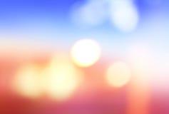 Defocused света, абстрактная предпосылка нерезкости для веб-дизайна Стоковые Изображения