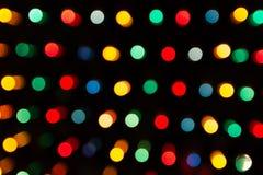 Defocused света, красочная абстракция кругов Стоковые Изображения RF