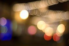 defocused света стоковая фотография