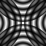 Defocused увяданные monochrome картина/текстура Абстрактный ба op-искусства иллюстрация вектора