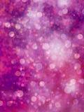 Defocused фиолетовые света. яркий блеск. EPS 10 Стоковые Изображения RF