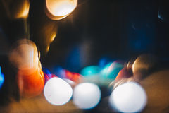 Defocused abstract background in the city Royalty Free Stock Image