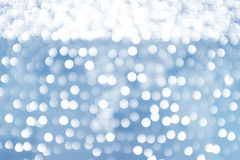 Defocused, abstract background color light bokeh circles. Stock Images