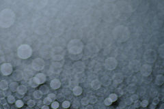 Defocused abstract black background Stock Photography