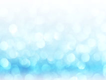 Defocused abstract blue lights background . bokeh lights. royalty free stock photography
