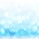 Defocused abstract blue lights background . bokeh lights. Stock Photo