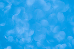 Defocused abstract blue lights background Stock Photos