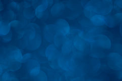 Defocused abstract blue lights background Stock Photo