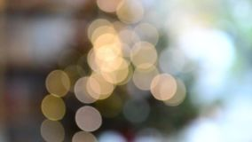Defocused abstract blur bokeh lights background.footage HD stock footage