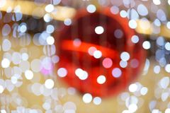 The defocused abstract blurry circles background. Stock Image
