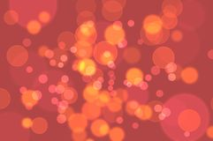 Defocused abstract bokeh background Royalty Free Stock Photos