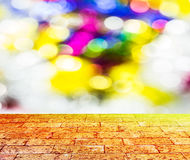 Defocused abstract bokeh background Stock Photo