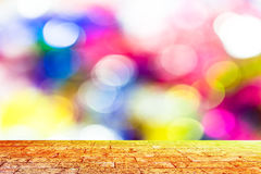 Defocused abstract bokeh background Stock Photography