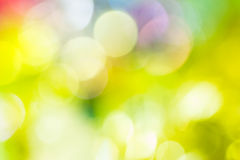 Defocused abstract bokeh background Stock Images