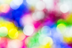 Defocused abstract bokeh background Royalty Free Stock Images