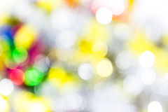Defocused abstract bokeh background Royalty Free Stock Photo
